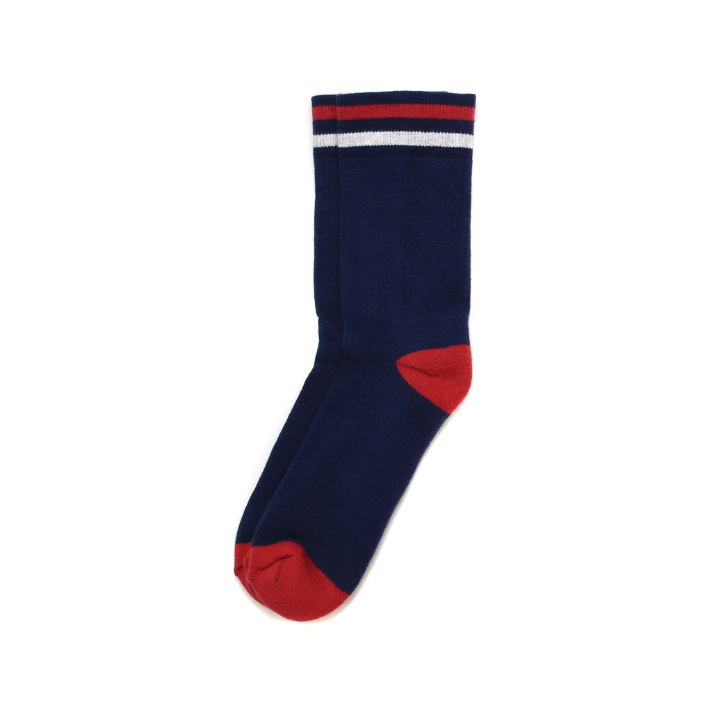 American Trench Kennedy Luxe Athletic Socks Navy