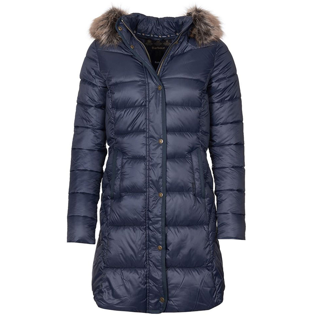 Barbour Jamison Quilt Navy
