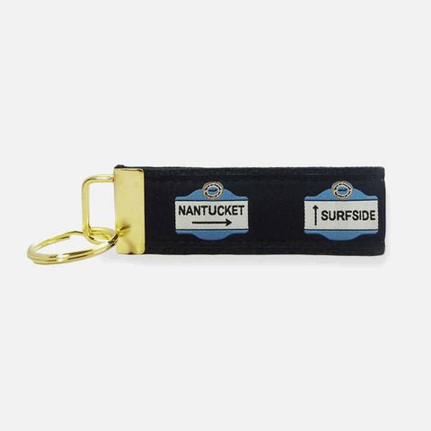 Yri Nantucket Town Signs Key Fob