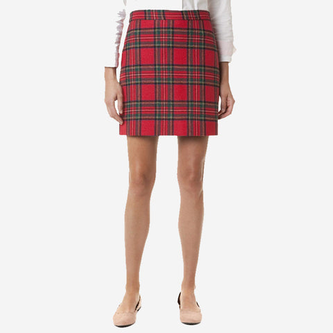 Castaway Ali Wool Skirt Royal Stewart