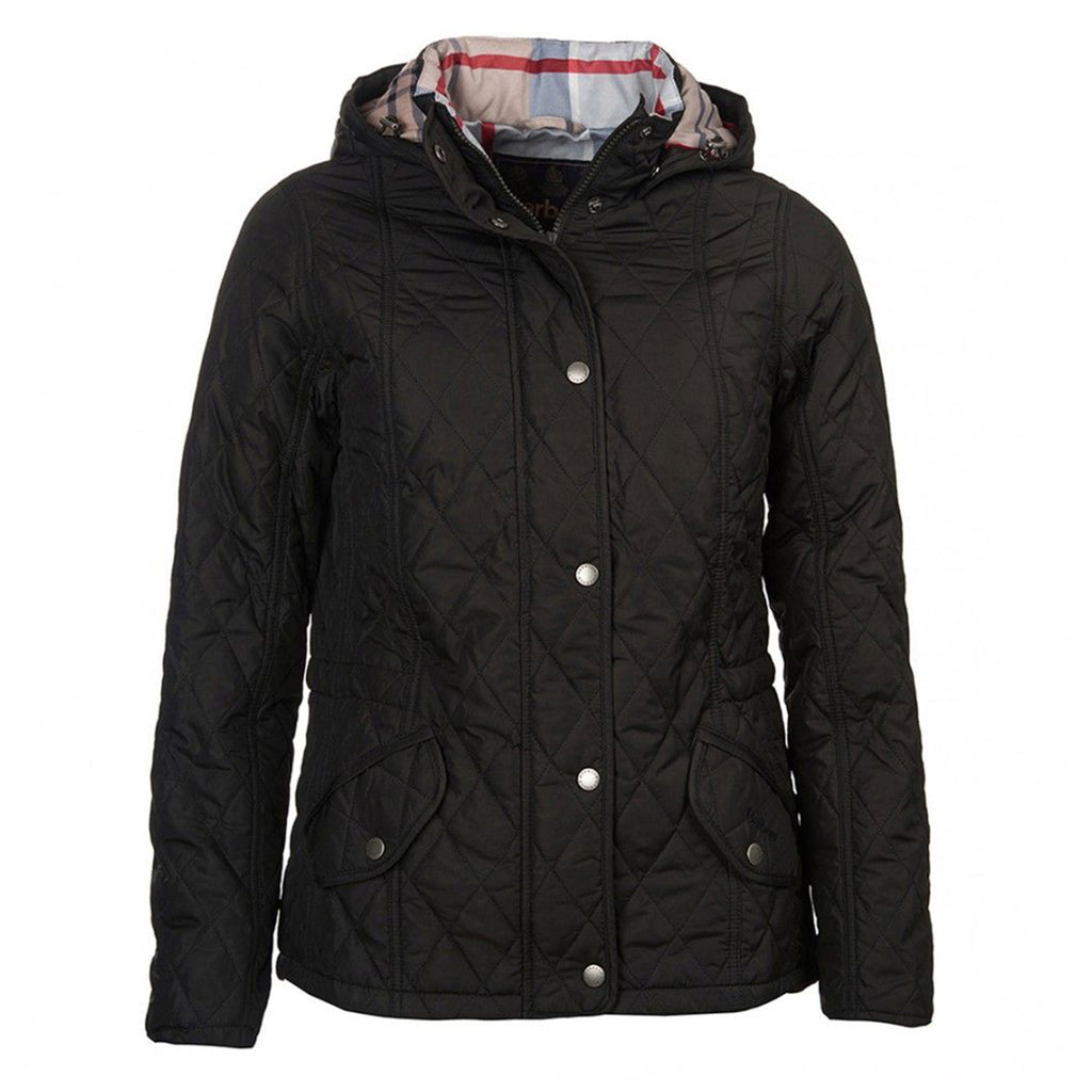 Barbour Millfire Quilt Jacket Black