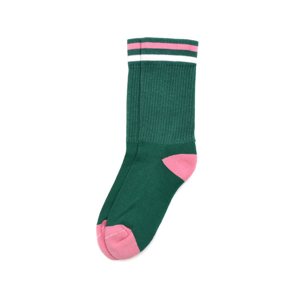American Trench Kennedy Luxe Athletic Socks Green