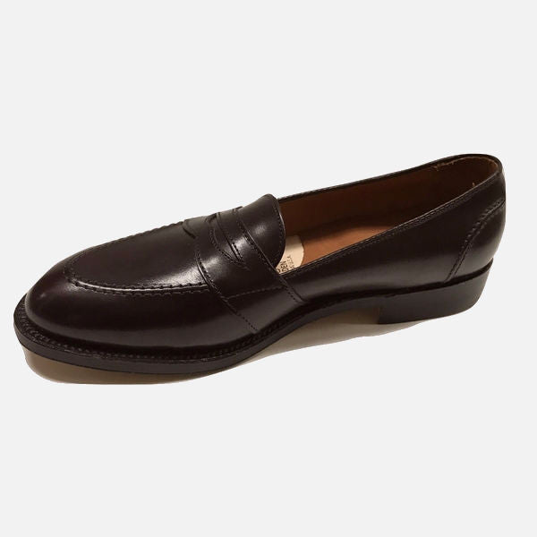 Alden Men's 683 - Full Strap Slip On - Burgundy Calfskin