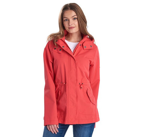 Barbour Ladies Promenade Jacket Coral