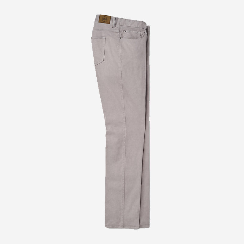 Peter Millar Ultimate Sateen 5 Pocket Pant Gale Grey