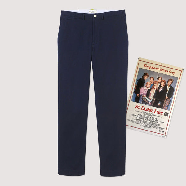 Rowing Blazers Cotton Twill Tailored Leg Trouser