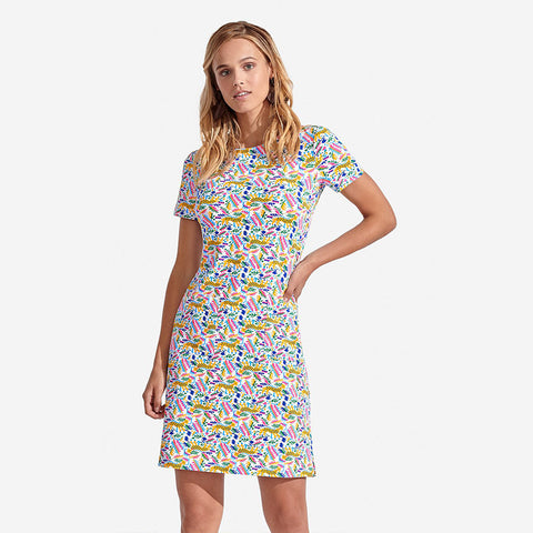 Persifor Carter Dress Roe Deer Mango