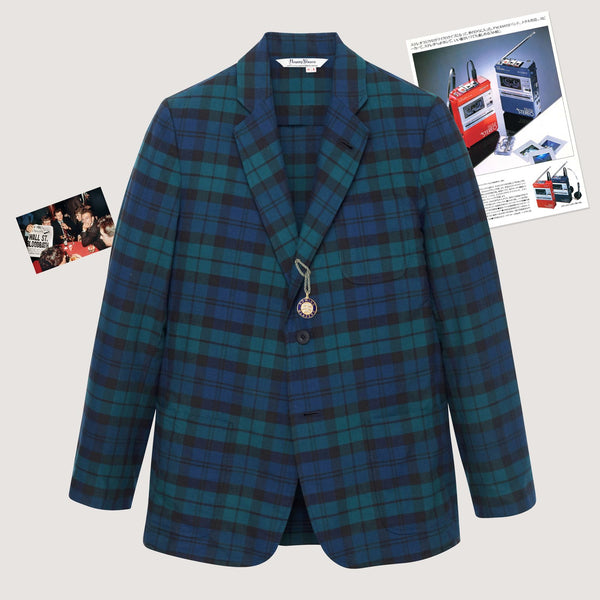 Rowing Blazers Black Watch Madras Jacket