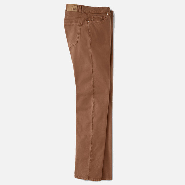Peter Millar Collection Wayfare Knit Five-Pocket Pant Vicuna