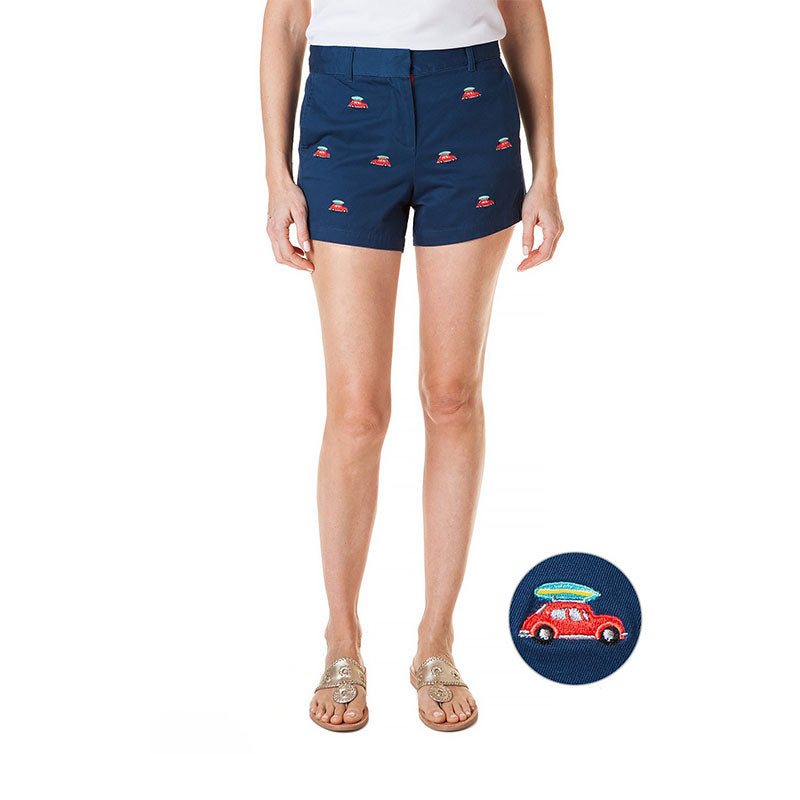 Castaway Ladies Crew Short Bug