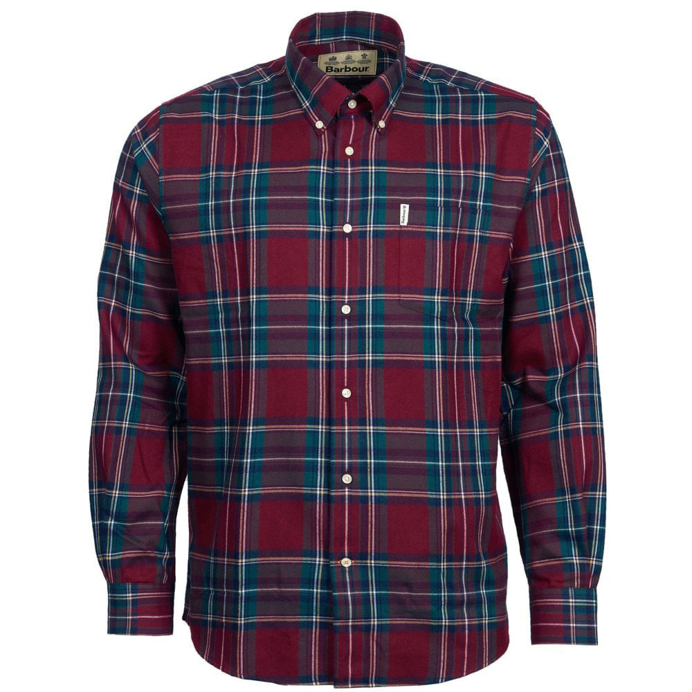 Barbour Thermo-Tech Dalby Shirt - Red