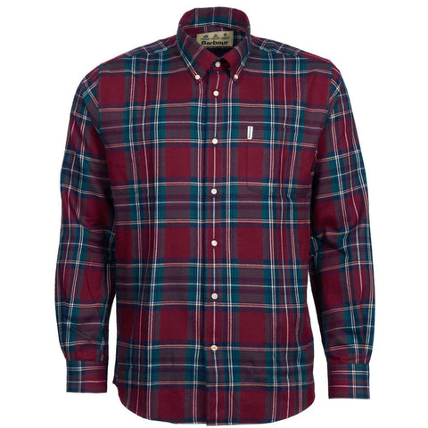 Barbour Thermo-Tech Dalby Shirt Red