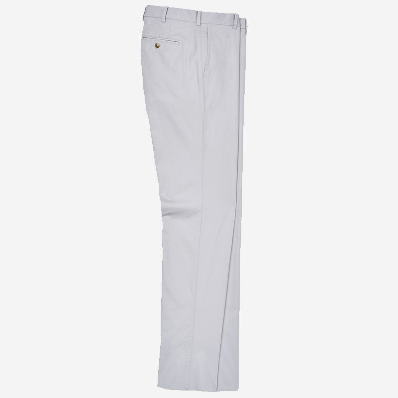 Peter Millar Soft Touch Twill Trouser Light Grey