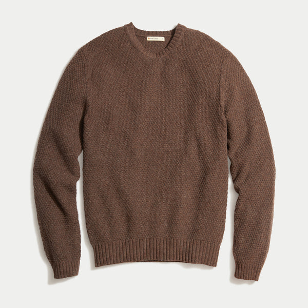 Marine Layer Prescott Sweater Molasses