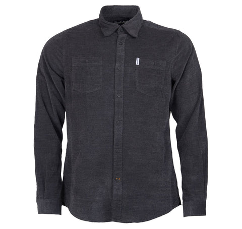Barbour Walney Shirt Charcoal