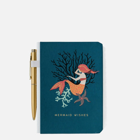 Spartina 449 Pocket Pen Notebook - Mystic Mermaid
