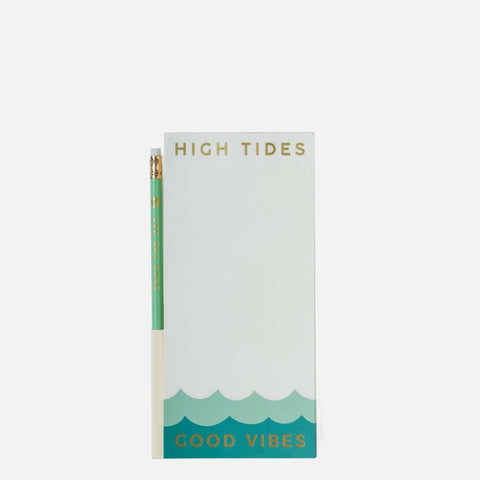 Spartina 449 Pencil List Pad - Good Vibes