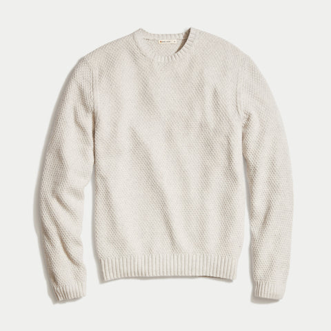 Marine Layer Prescott Sweater Mercury