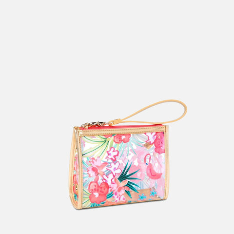 Spartina 449 Retreat Beach Wristlet - Flamingo Floral