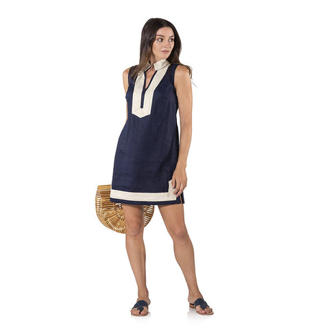 Sail to Sable Sleeveless Classic Tunic Navy