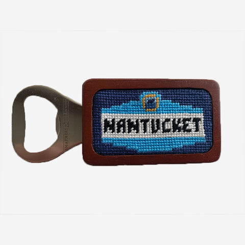 Smathers & Branson Nantucket Town Signs Bottle Opener