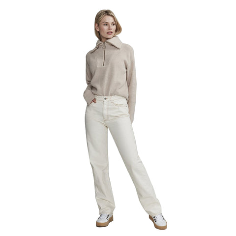 Holebrook Melody T-Neck Sweater Sand