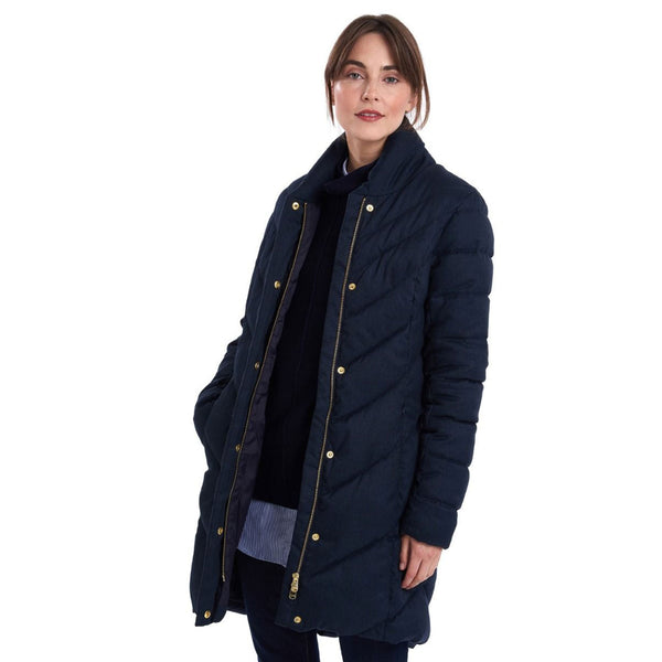 Barbour Barmack Quilt Jacket Navy