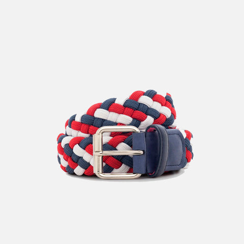 Beltology Pulse Designer Belt - Red, White & Blue