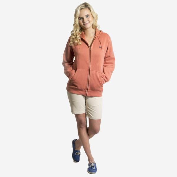 Nantucket Reds Collection™ Sweatshirt with Hood and Full Zip