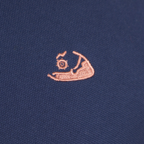 Nantucket Reds Collection™ Men's Pique Polo - Navy