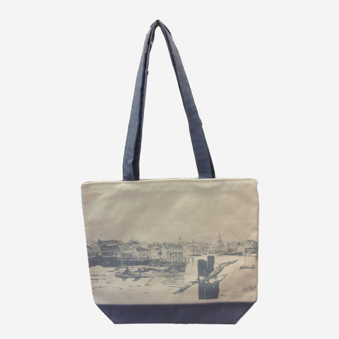 Easy Street Wharf Tote Bag