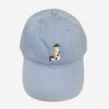 Smathers & Branson Great Point Lighthouse Needlepoint Hat - Light Blue