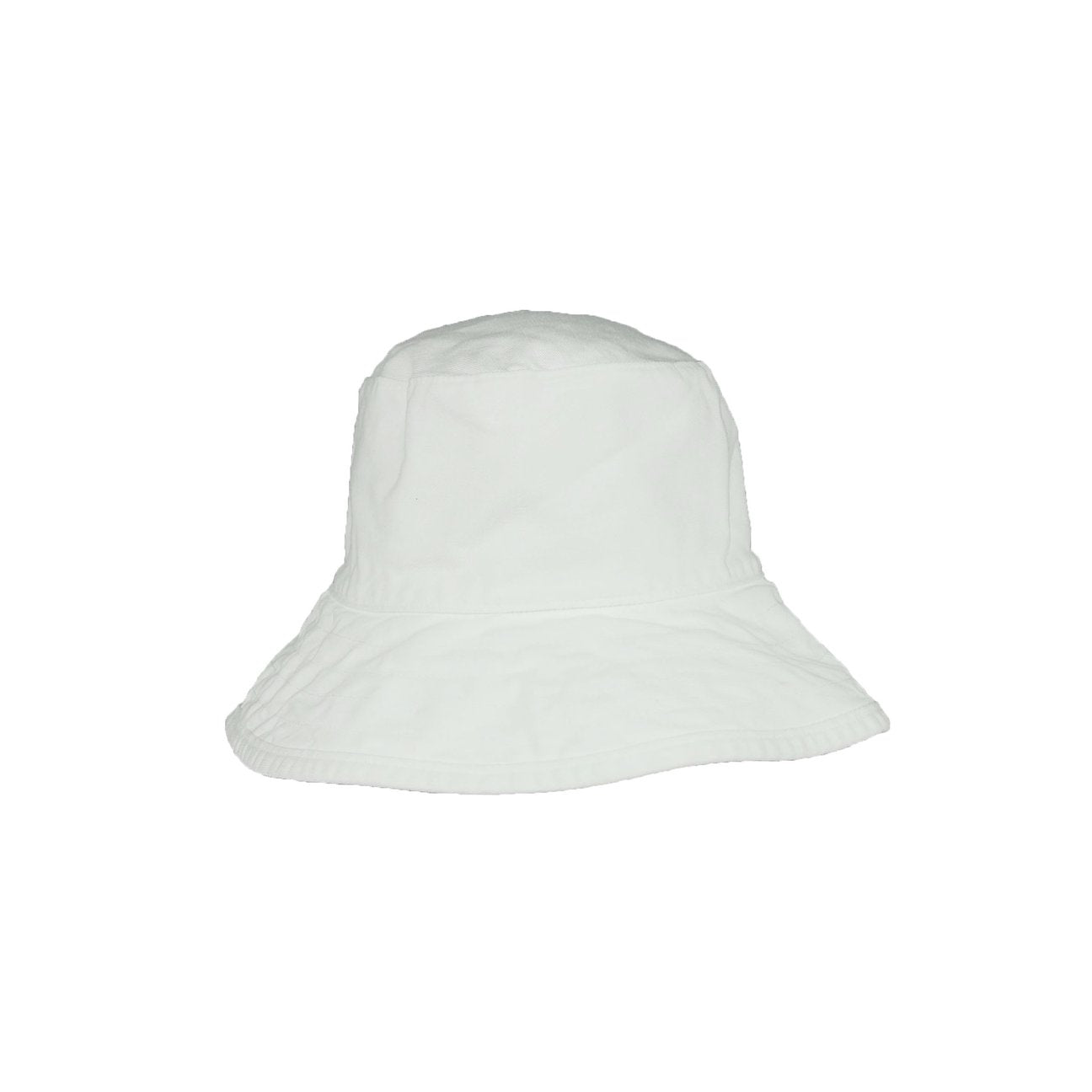 Hat Attack Washed Cotton Crusher White
