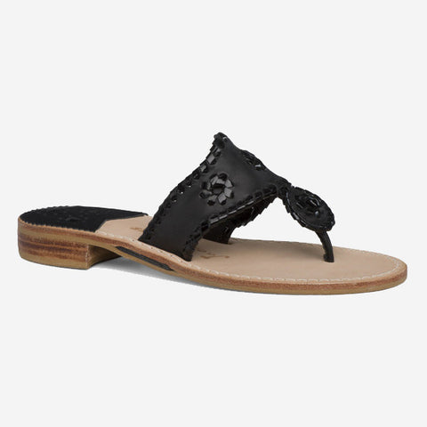 Jack Rogers Palm Beach Sandal - Black