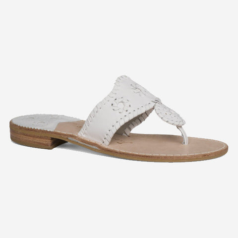 Jack Rogers Palm Beach Sandal - White