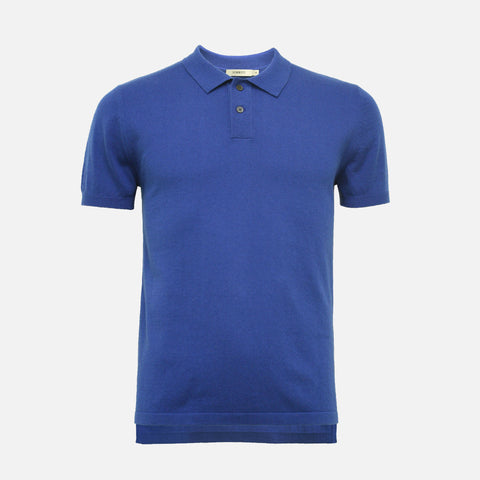 Hommard Hampton Men's Cashmere Polo Shirt