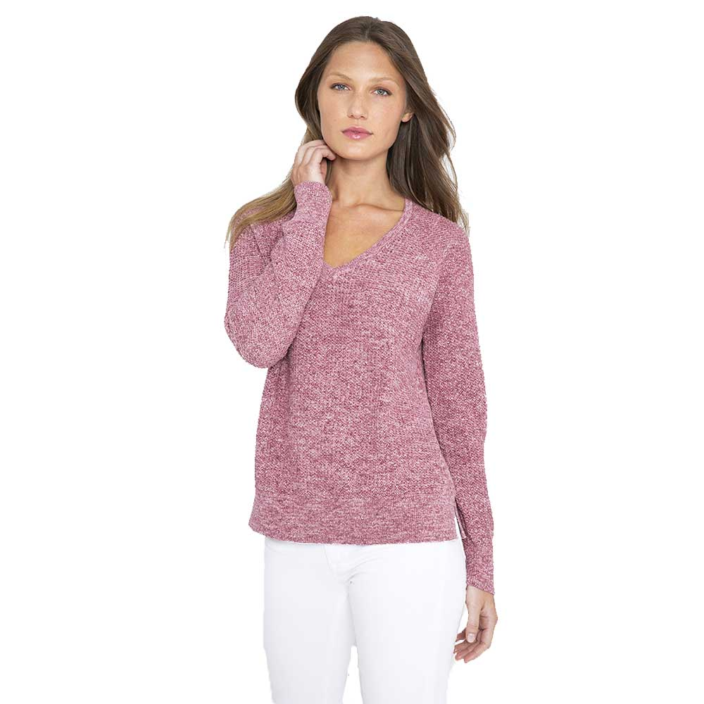Kinross Cashmere Easy Texture Vee