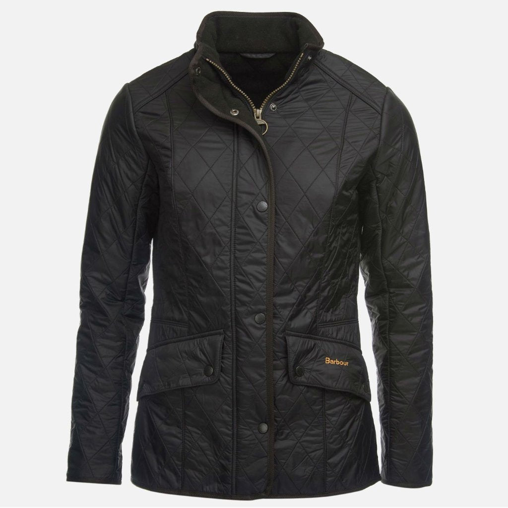 Barbour Cavalry Polarquilt Jacket - Black