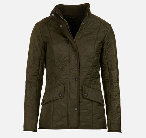 Barbour Cavalry Polarquilt Jacket - Olive