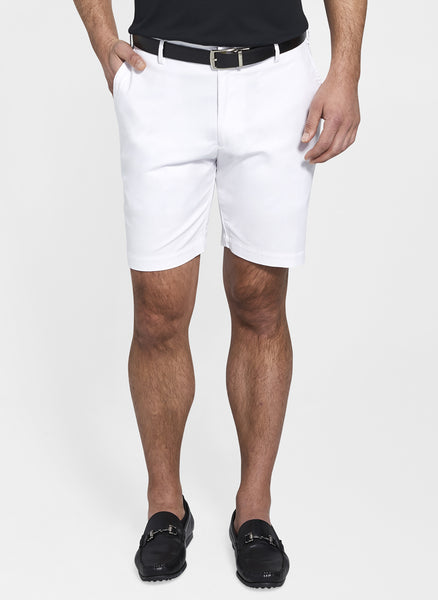 Peter Millar Soft Touch Twill Short White