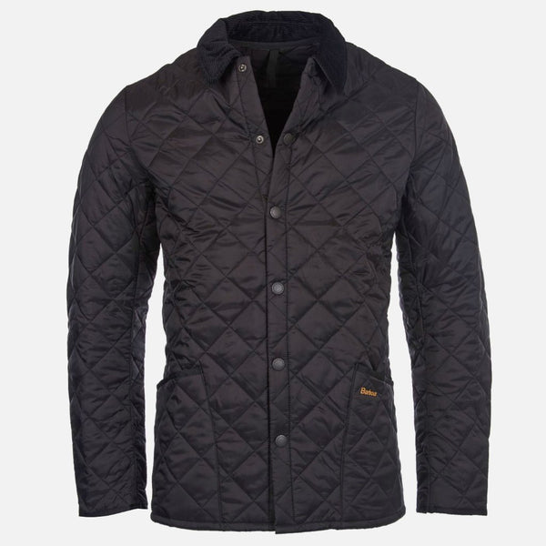 Barbour Heritage Liddesdale Quilted Jacket - Black