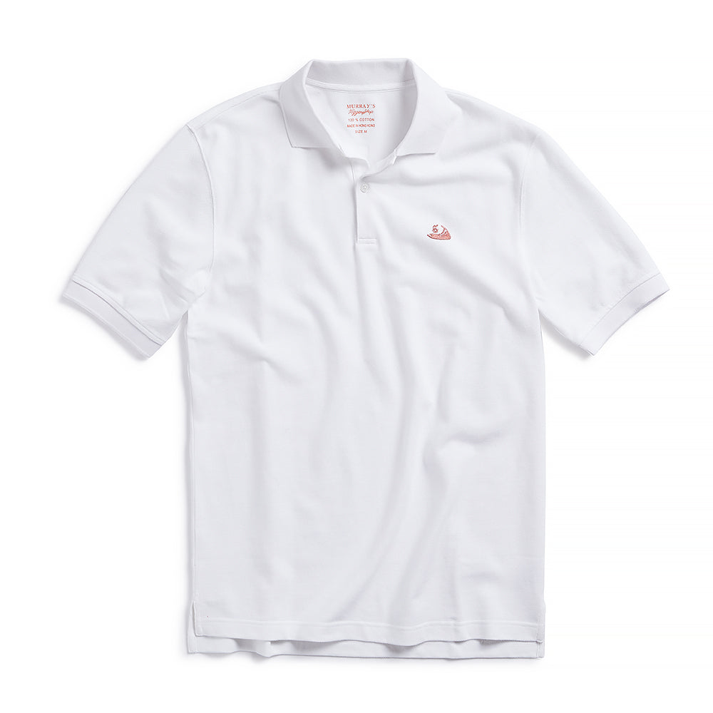 Nantucket Reds Collection™ Men's Pique Polo - White
