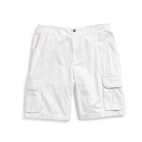 Nantucket Reds Collection™ Men's Cargo Bermuda Shorts - White