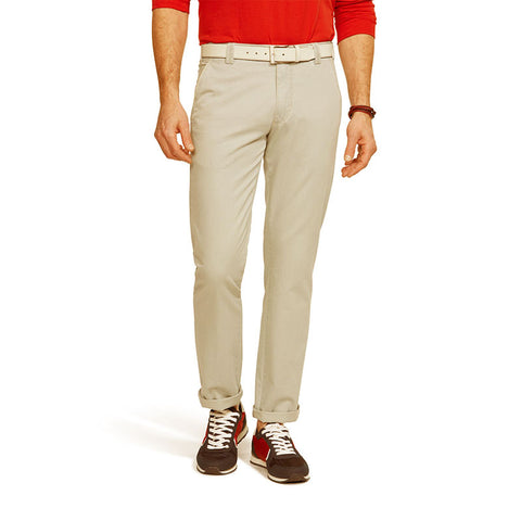 Meyer New York Fairtrade Soft Cotton Chino Khaki