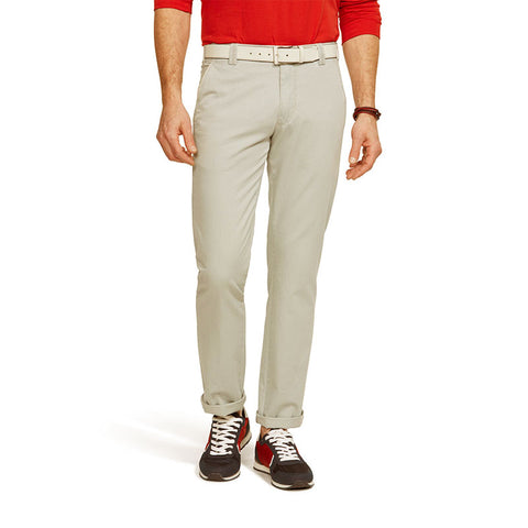 Meyer New York Fairtrade Soft Cotton Chino Stone