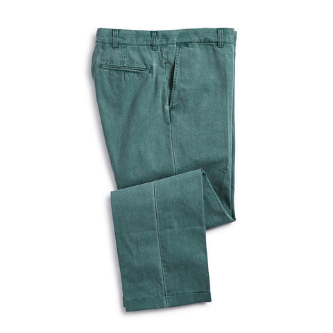 Nantucket Reds Collection™ Men's Plain Front Pants - Green