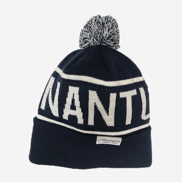 Richardson Nantucket Knit Beanie with Cuff Navy
