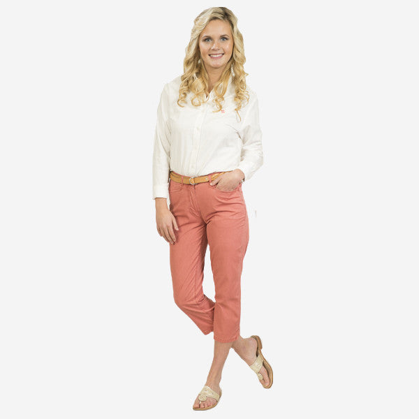 Nantucket Reds Collection™ Ladies Poplin Capris