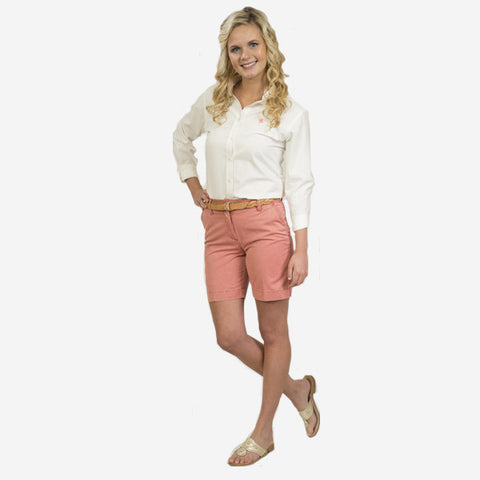 Nantucket Reds Collection™ Ladies Poplin Short