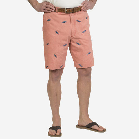 Nantucket Reds Collection™ Men's Bluefish Bermuda Shorts